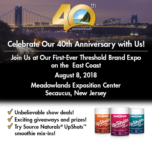 Join us at the New Jersey Threshold Brand Expo , August 8, 2018.