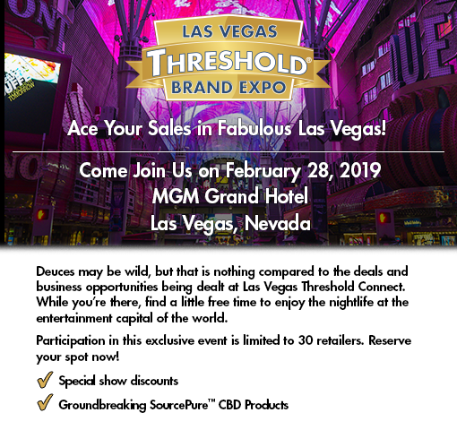 Join us at the Las Vegas Threshold Connect 30/30, February 28, 2019.
