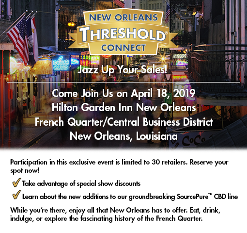 Join us at the New Orleans Threshold Connect 30/30, April 18, 2019.