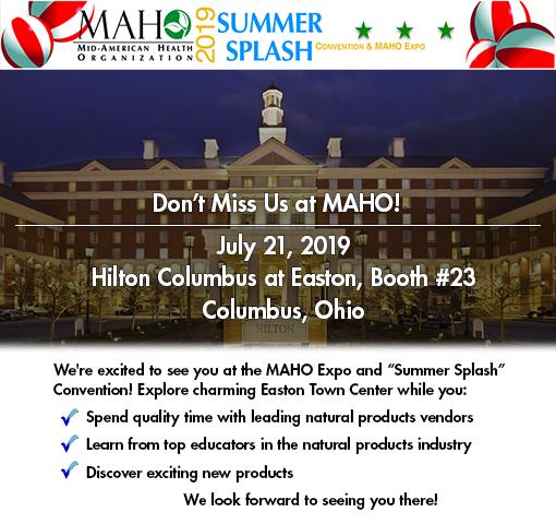 Join us at the MAHO Expo, July 21, 2019.