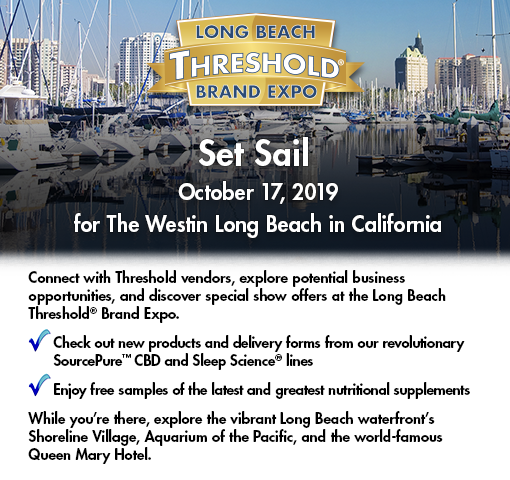 Join us at the Long Beach Threshold Brand Expo, October 17, 2019.