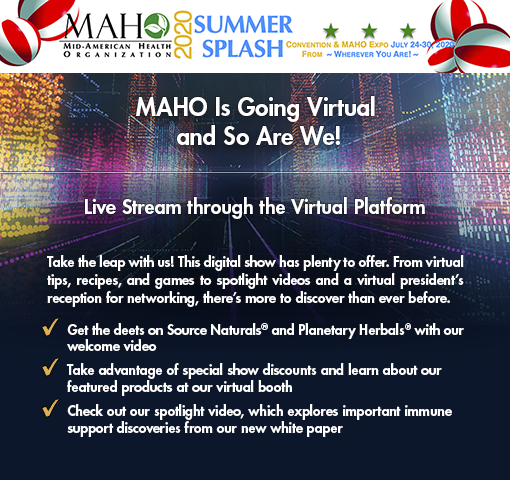 Join us at the MAHO Expo, June 28, 2020.